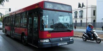 Tussam, incidentes, pedradas, autobuses, Tussan, Sevilla,