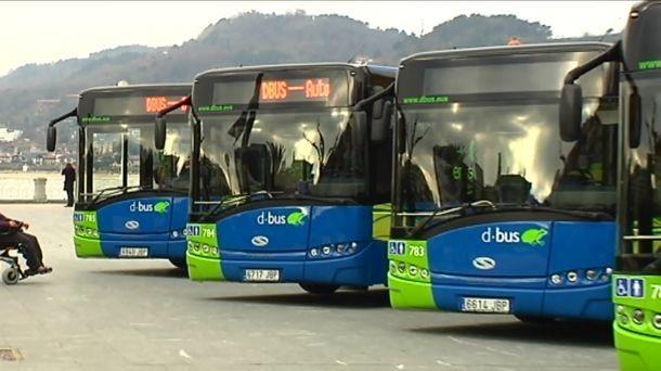 huelga, transporte, viajeros, Guipuzcoa, Dbus, servicios,