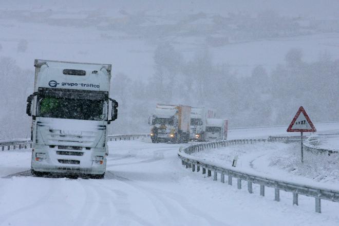 frente, España, este, oeste, viento, lluvia, nieve,
