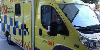 dos, heridos, colisión, turismo, camión, Pontevedra,