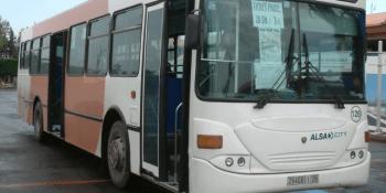 Alsa, contrato, urbano, autobús, Rabat,