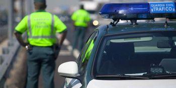 disparan, víctimas, carretera, disminuye, número, guardia civil, tráfico,