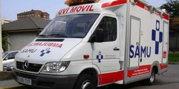 herido, camionero, colisión, camiones, Avilés,