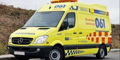 herido, camionero, vuelco, vehículo, Ourense,