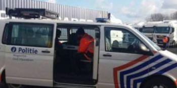 31, camiones, incautados, Bélgica, dumping social,
