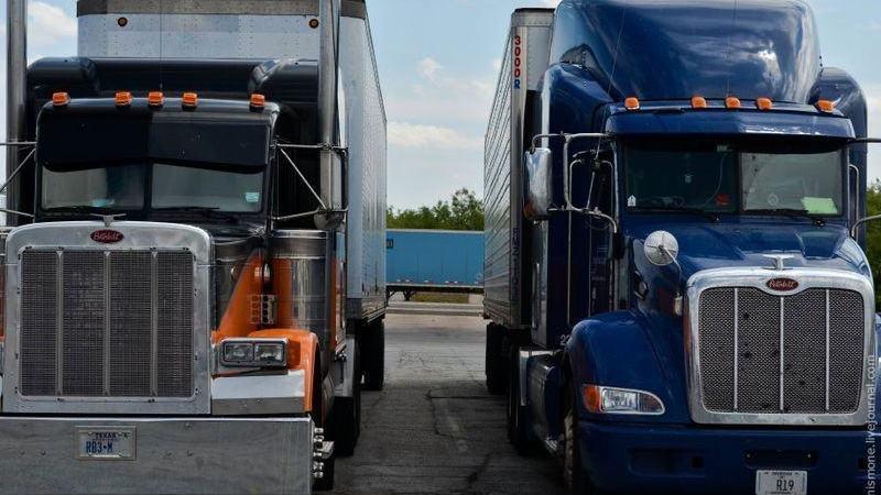 semana. reconocimiento, camioneros, Estados Unidos,