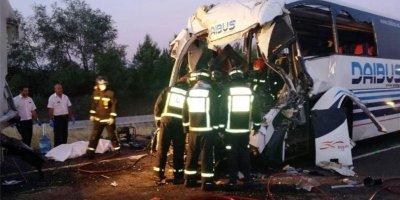 siete, personas, heridas, accidente, turismo, autobús, Castilla La Mancha,