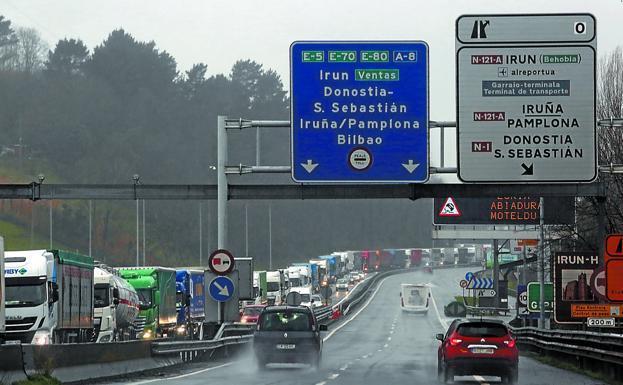 País Vasco, prohibición, levanta, transporte, transfronterizo, camiones, mayo,