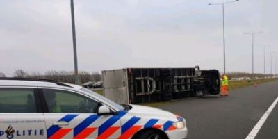 fuertes, vientos, Países Bajos, accidentes,