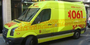 conductor, camión, negativo, prueba, alcoholemia, Ibiza,