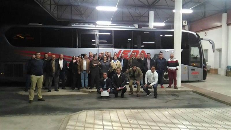 trabajadores, empresa, autobuses, Leda, salarios, empresa, diciembre, enero, sindicatos,