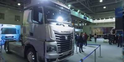cabina, Kamaz, fabricante, ruso, camiones, modelo, presentación,