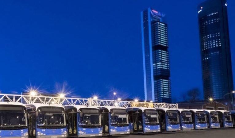 Transporte Urbano, renovación, flota, autobuses, impuesto, diesel,