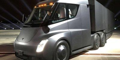 Tesla, camiones, venta, 100.000, año, Elon Musk, electricos, Semi