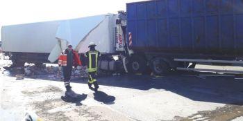 fallece, accidente, camionero, A-1, Dortmund, Alemania, colisión,