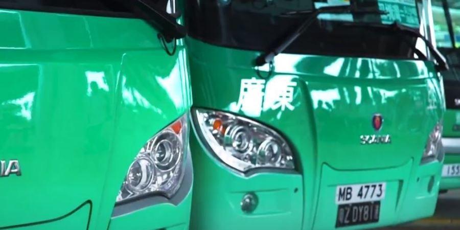 empresa, autobuses, Hong Kong, Scania,