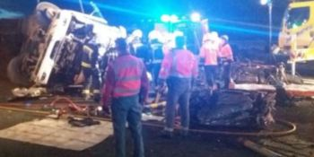 fallece, camionero, accidente, Unzué,