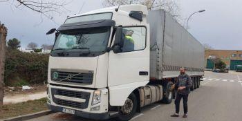 camionero, polaco, denunciado, manipulación, tacógrafo,