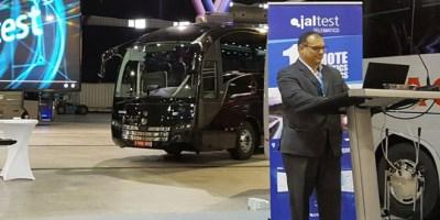 Jaltest-Telematics, presentación, transporte discrecional, autobuses,