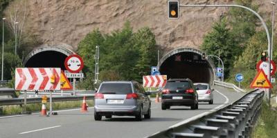 A-15, cerrará, camiones, Mayo, Septiembre, obras, túnel,
