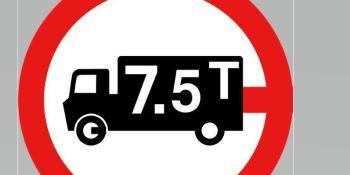 restricciones, tráfico, camiones, Semana Santa, Italia,