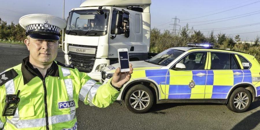 conducción, distraída, éxito, Inglaterra, camiones , camuflados,