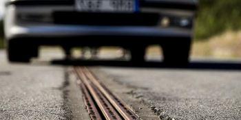 Suecia, primera, carretera, electrificada,