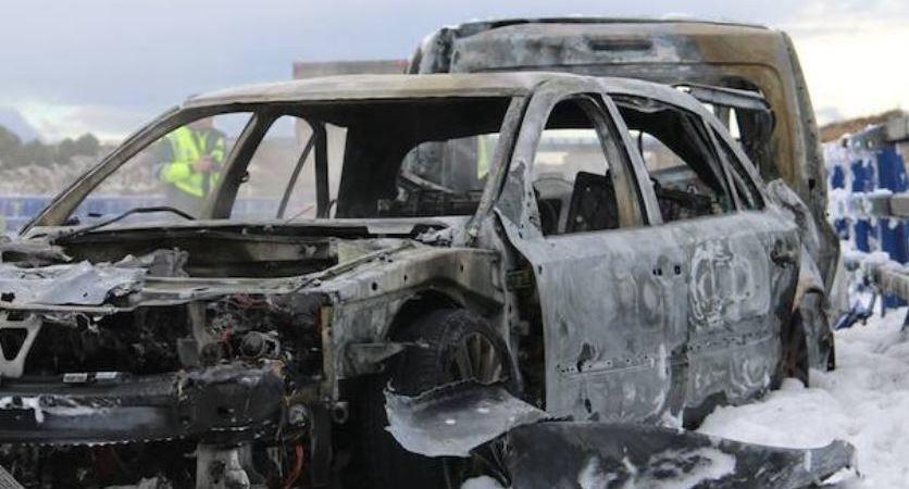 accidente, coches, camión, autovía A-66, grave,