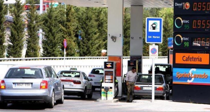 carburantes, gasolina, gasóleo, nuevos, máximos, semana,