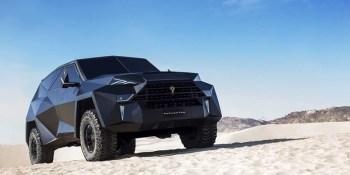 SUV, blindado, toneladas, millones, euros, Karlmann King,