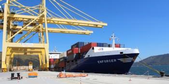 Macandrews, nueva, línea, contenedores, Puerto, El Ferrol,