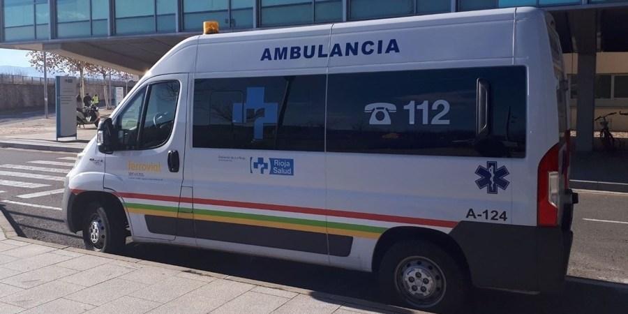 LR-289, herido, colisión, turismo, camión,