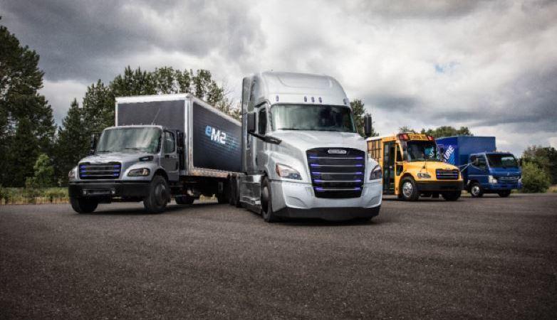Daimler Trucks, vehículos, eléctricos,
