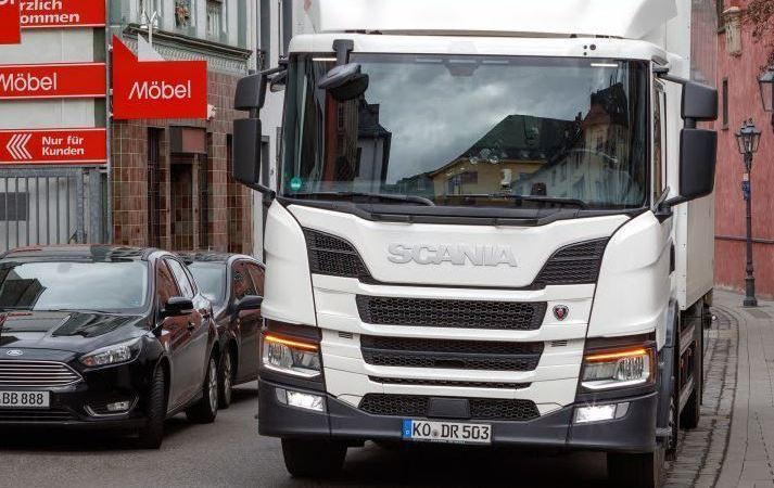 Meyer Logistik, prueba, Scania P 280, motor 7 litros,