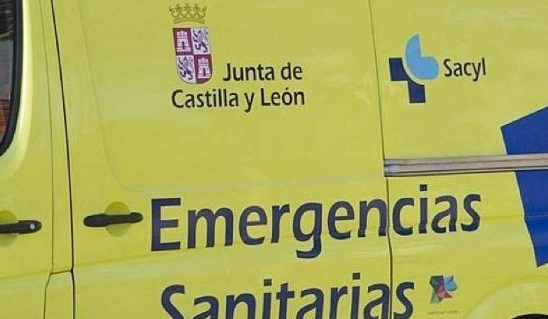 Herido un camionero tras el vuelco de su vehículo en la N-234 en Soria