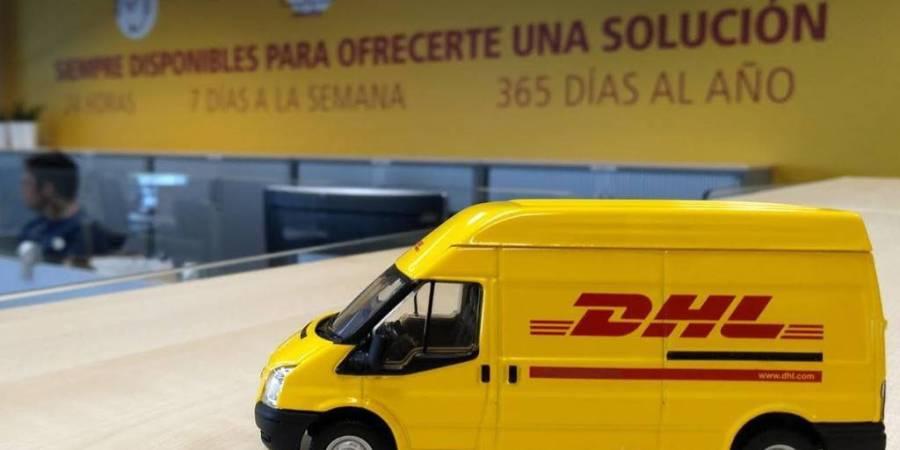 DHL Parcel, traslada, Madrid, oficina, compañía,