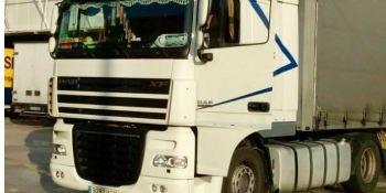 camión, robado, La Garriga, marca DAF,
