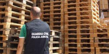 detenido, robo, palés, estafa, Teruel,