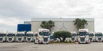 Grupo Fuentes,, camiones, Scania, flota, ampliación, transporte