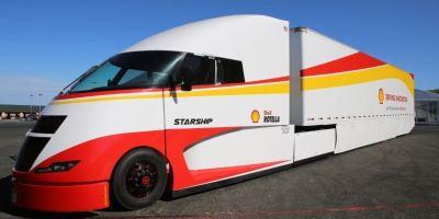 Starship, camión, ultraeficiente, Estados Unidos,