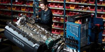 motores, Volvo, Fábrica, Flen, segunda, vida,