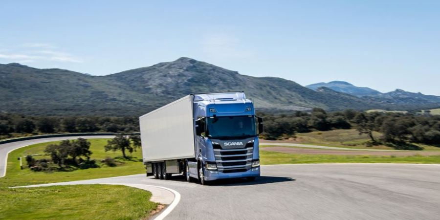 sistema, ahorro, combustible, Scania, trayecto, pendientes, llano, predictivo,