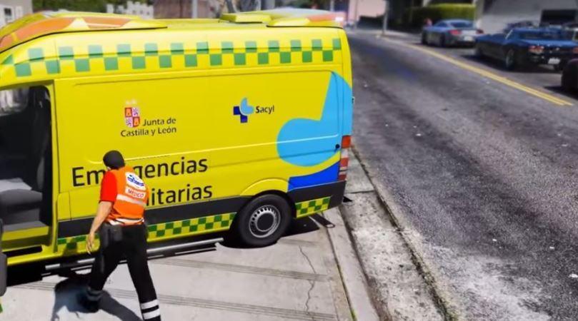 herido, camión, mina, Santa Lucia, Emergencias 112,