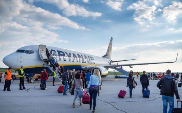 Ryanair, lidera, pasajeros, España, vuelos,