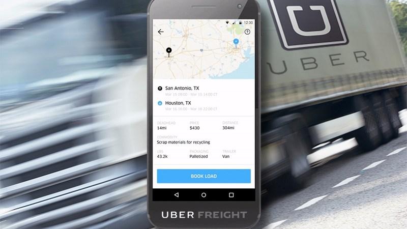 Uber Freight, nueva, plataforma, cargadores,