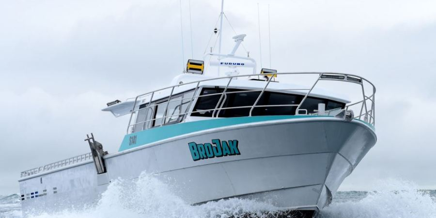 barco, pesquero, motor, Scania,