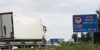transporte, movilizaciones, transportistas, catalanes, reivindicaciones,