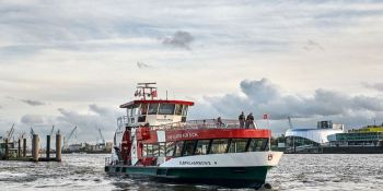 Elbphilharmonie, ferry, motores, Scania,