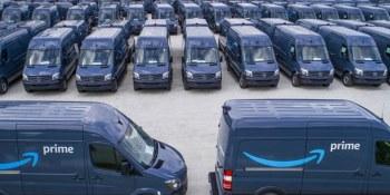 Amazon, furgonetas, Mercedes- Benz,