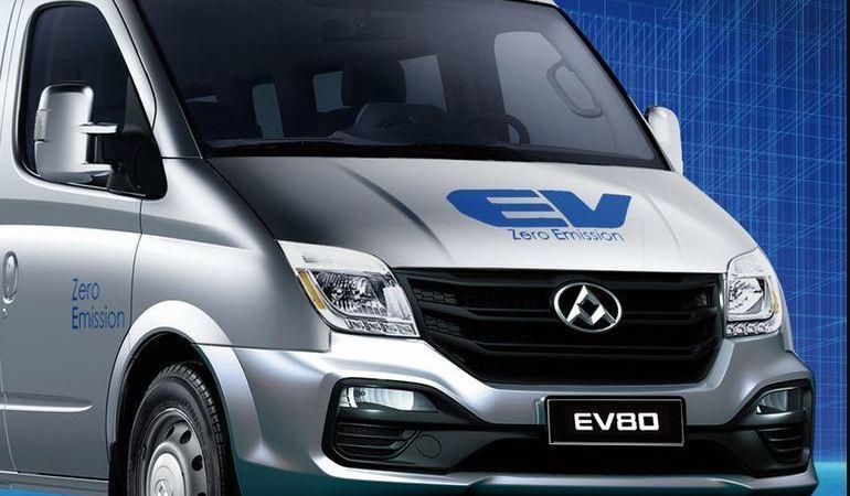 Maxus, vehículo, comercial, EV80 Light-electric,
